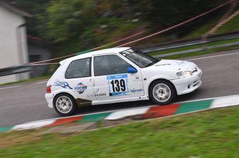 Roberto Zadra (Peugeot 106 #139), CAMPIONATO ITALIANO VELOCITÀ MONTAGNA