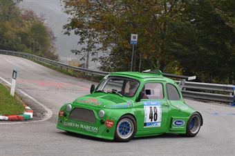 Marcon Stiw (BL Racing, Fiat 500 R2 #48), CAMPIONATO ITALIANO VELOCITÀ MONTAGNA