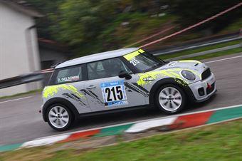 Davide Gelsomini (Valdelsa Classic, Mini Cooper S #215), CAMPIONATO ITALIANO VELOCITÀ MONTAGNA