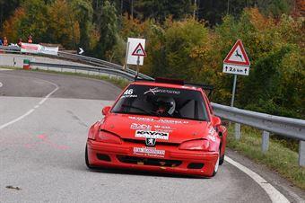 Scopel Andrea (Xmotors, Peugeot 106 #46), CAMPIONATO ITALIANO VELOCITÀ MONTAGNA