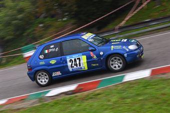 Claudio Pio (Autoclub Naz. Forze Polizia, Citroen Saxo Vts #247), CAMPIONATO ITALIANO VELOCITÀ MONTAGNA