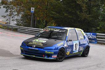 Oddo Antonino (Racing for Genova, Peugeot 106 #97), CAMPIONATO ITALIANO VELOCITÀ MONTAGNA