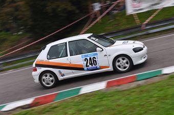 Riccardo Pomozzi (Peugeot 106 Rally #246), CAMPIONATO ITALIANO VELOCITÀ MONTAGNA