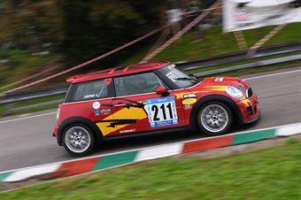 Valerio Lappani ( Gaetani Racing, Mini Cooper S JCW #211), CAMPIONATO ITALIANO VELOCITÀ MONTAGNA