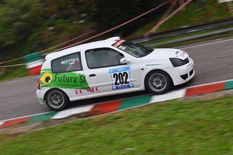 Miotto Stefano ( Testadoro, Renault Clio #202), CAMPIONATO ITALIANO VELOCITÀ MONTAGNA