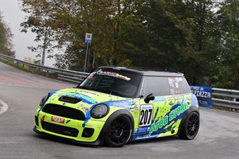Liuzzi Giacomo (Fasano Corse, BMW Mini Cooper JCW #207), CAMPIONATO ITALIANO VELOCITÀ MONTAGNA