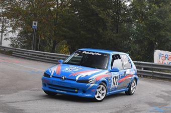 Favaro Elia (VimotorSport, Peugeot 106 #173), CAMPIONATO ITALIANO VELOCITÀ MONTAGNA