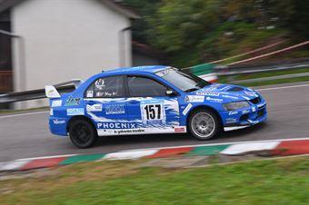 Migliuolo Antonino (Asd Scuderia Mendola, Mitsubishi Evo Ix #157), CAMPIONATO ITALIANO VELOCITÀ MONTAGNA