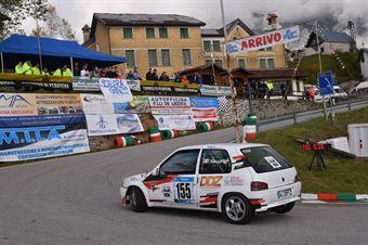 Savio Micheal (For Sport, Peugeot 106 #155), CAMPIONATO ITALIANO VELOCITÀ MONTAGNA