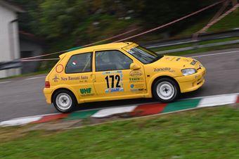 Vettorel Fabrizio (BL Racing, Peugeot 106 Rally #172), CAMPIONATO ITALIANO VELOCITÀ MONTAGNA