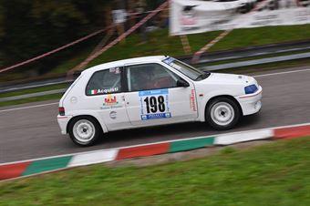 Luciano Acquisti ( BL Racing, Peugeot 106 #198), CAMPIONATO ITALIANO VELOCITÀ MONTAGNA