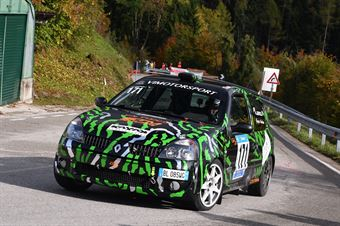 Ennio Alberioli (Halley Racing team, Renault Clio #171), CAMPIONATO ITALIANO VELOCITÀ MONTAGNA