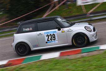 Domenico Tinella (Apulia Corse, Mini Cooper S #239), CAMPIONATO ITALIANO VELOCITÀ MONTAGNA