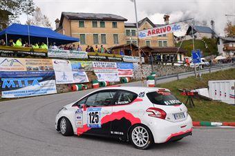 Silvia Mosena (BL Racing, Peugeot 208 #125), CAMPIONATO ITALIANO VELOCITÀ MONTAGNA