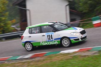 Lenisa Waifro (Sport Image, Skoda Fabia #124), CAMPIONATO ITALIANO VELOCITÀ MONTAGNA
