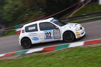 Renato Paissan ( Pintarally Motorsport, Renault Clio #122), CAMPIONATO ITALIANO VELOCITÀ MONTAGNA