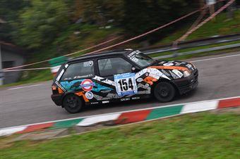 Giacomuzzi Sergio (Mendola, Rover Metro GTI #154), CAMPIONATO ITALIANO VELOCITÀ MONTAGNA