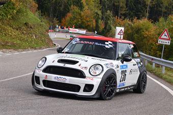 Agostino Scaffidi (CST Sport, Mini Cooper S JCW #236), CAMPIONATO ITALIANO VELOCITÀ MONTAGNA