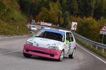 Adriano Antoniol (Rally Team, Peugeot 106 #153), CAMPIONATO ITALIANO VELOCITÀ MONTAGNA