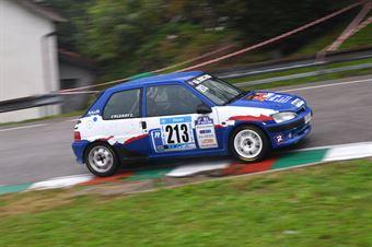 Caldart Claudio (BL Racing, Peugeot 106 #213), CAMPIONATO ITALIANO VELOCITÀ MONTAGNA