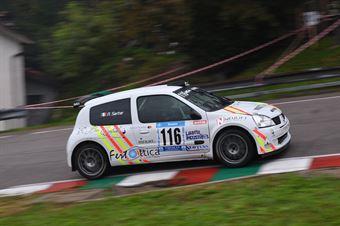 Nicola Sartor (La Superba, Renault Clio #116), CAMPIONATO ITALIANO VELOCITÀ MONTAGNA