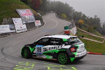 Alex D'agostini ( Halley racing Team (Skoda Fabia #109), CAMPIONATO ITALIANO VELOCITÀ MONTAGNA