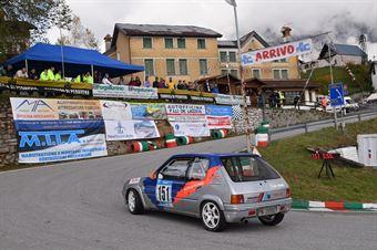 Devis Bernardi (BL Racing, Peugeot 205 #151), CAMPIONATO ITALIANO VELOCITÀ MONTAGNA