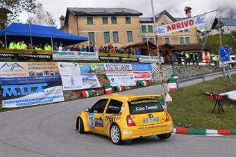 Parisi Roberto (Pintarally Motorsport, Renault Clio Super 1600 #115), CAMPIONATO ITALIANO VELOCITÀ MONTAGNA
