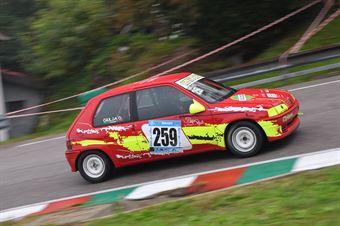 Giulia Gallinella ( Orvieto Corse, Peugeot 106 #259), CAMPIONATO ITALIANO VELOCITÀ MONTAGNA