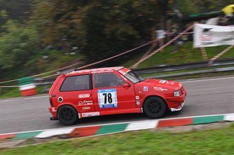 Gerolamo Campus ( Magliona Motorsport, Fiat Uno Turbo #78), CAMPIONATO ITALIANO VELOCITÀ MONTAGNA