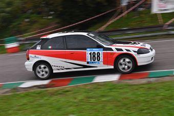 Alberto Agosti (Centro Revisioni, Honda Civic #188), CAMPIONATO ITALIANO VELOCITÀ MONTAGNA