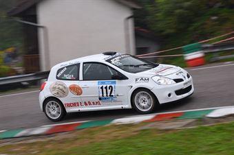 Dal Col Nicola (VimotorSport, Renault Clio #112), CAMPIONATO ITALIANO VELOCITÀ MONTAGNA