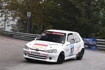 Roncen Nicola (Prealpi, Peugeot 106 #187), CAMPIONATO ITALIANO VELOCITÀ MONTAGNA