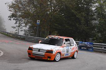 Angelo Giovannini (Destra 4, Peugeot 205 Rally #147), CAMPIONATO ITALIANO VELOCITÀ MONTAGNA