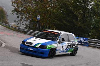 Andrea De Stefani (Scuderia Prealpi, Renault Clio Williams #81), CAMPIONATO ITALIANO VELOCITÀ MONTAGNA