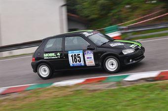 Accorsi Lorenzo ( Peugeot 106 Rallye, BL Racing #185), CAMPIONATO ITALIANO VELOCITÀ MONTAGNA