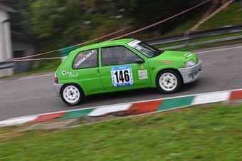 Consalter Roberto (Antares Motorsport, Peugeot 106 #146), CAMPIONATO ITALIANO VELOCITÀ MONTAGNA