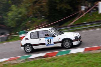 Bet Alex (VimotorSport, Peugeot 205 GTI #84), CAMPIONATO ITALIANO VELOCITÀ MONTAGNA