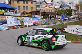 Alex D'Agostini (Halley Racing team, Skoda Fabia R5 #109), CAMPIONATO ITALIANO VELOCITÀ MONTAGNA