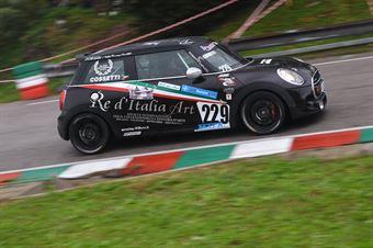 Stefano Cossetti (Mini Cooper SD JCW #229), CAMPIONATO ITALIANO VELOCITÀ MONTAGNA