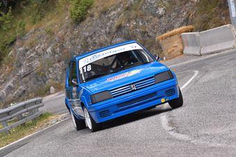 Thomas Rossi ( Peugeot 205 R #118), CAMPIONATO ITALIANO VELOCITÀ MONTAGNA