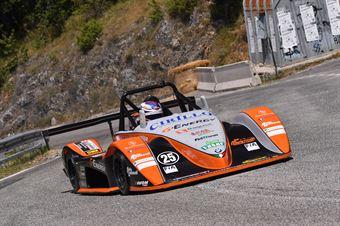 Achille Lombardi ( Vimotorsport, Osella PA 21 jrb #25), CAMPIONATO ITALIANO VELOCITÀ MONTAGNA