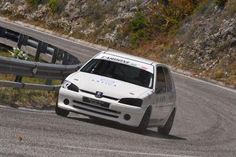 Stefano Bosi ( ACN Forze di Polizia, Peugeot 106 #142), CAMPIONATO ITALIANO VELOCITÀ MONTAGNA
