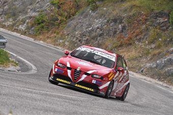 Davide Gabrielli ( Gr. Sport. A.C. Ascoli P. , Alfa Romeo 147 Gta #77), CAMPIONATO ITALIANO VELOCITÀ MONTAGNA