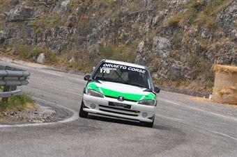 Rodolfo Lorenzini ( Peugeot 106 #176), CAMPIONATO ITALIANO VELOCITÀ MONTAGNA
