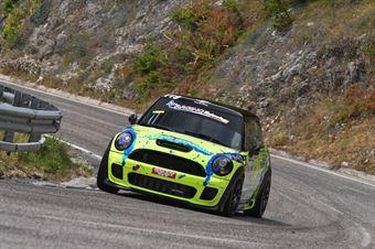 Liuzzi Giacomo (Fasano Corse, BMW Mini Cooper JCW #119), CAMPIONATO ITALIANO VELOCITÀ MONTAGNA