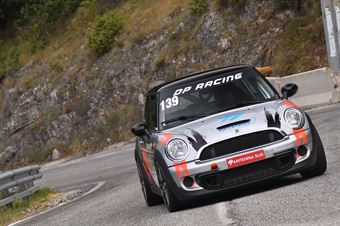 Angelo Loconte (Eptamotorsport, Mini Cooper JWC #139), CAMPIONATO ITALIANO VELOCITÀ MONTAGNA