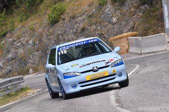 Roberto Spacco (Team Racing Gubbio, Peugeot 106 # 115), CAMPIONATO ITALIANO VELOCITÀ MONTAGNA