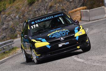 Angelucci Leonardo ( New Generation Racing, Peugeot 106 #174), CAMPIONATO ITALIANO VELOCITÀ MONTAGNA