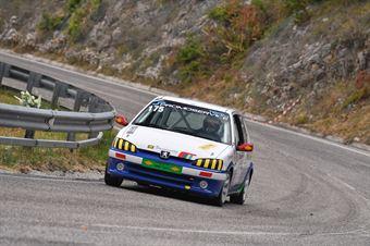 Mauro Camici ( Promoservice Team, Peugeot 106  #175), CAMPIONATO ITALIANO VELOCITÀ MONTAGNA